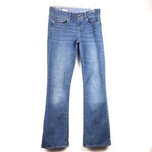 💎 3/$25 Gap Perfect Boot Cut Jeans 28 / 6 Long